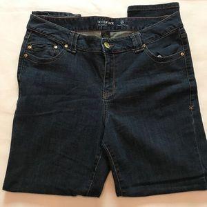 Lane Bryant genius fit Jeggings denim jeans 16